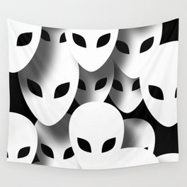 Aliens Phantoms Wall Tapestry