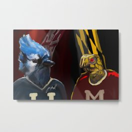 Lax Rivalry Metal Print