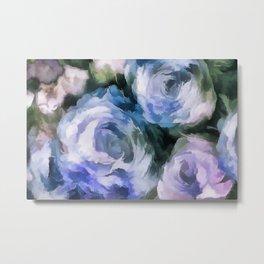 Blue rose. Metal Print
