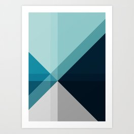 Geometric 1704 Art Print