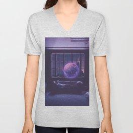 Galaxy lover Unisex V-Neck