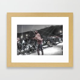 Fetty Wap in Ohio Framed Art Print
