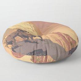 Zion National Park Dawn Floor Pillow