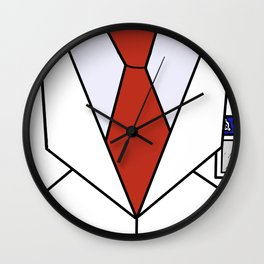 SCP Researcher Wall Clock