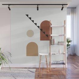Filosofia di aristotele - Philosophy of mind abstract art illustration Wall Mural