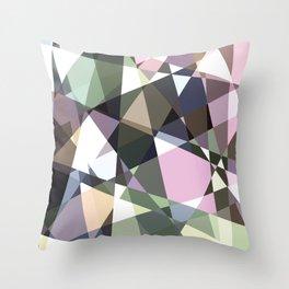Lazer Diamond 2 Throw Pillow