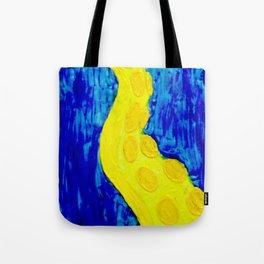 Yellow Tentacle Tote Bag