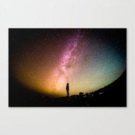 Galaxy Explorer Canvas Print