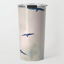 Bird Dance. Travel Mug