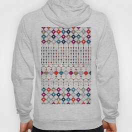 -A14- Lovely Colored Traditional Moroccan Texture Hoody