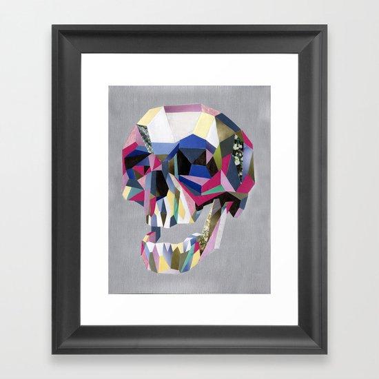 Skully skull Framed Art Print