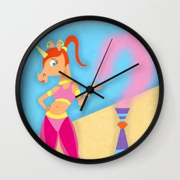 I Dream of Unicorn Wall Clock