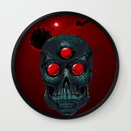 Horror From Beyond Time and Spaaaaaaace! Wall Clock