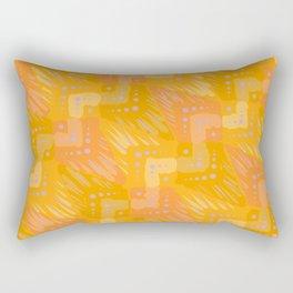 Tangerine Dream Rectangular Pillow