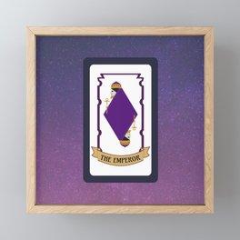 The Emperor (Mystic Match) Framed Mini Art Print