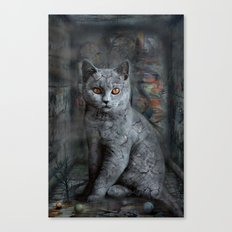 cats instantaneous Canvas Print