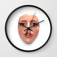 artpop Wall Clocks featuring ARTPOP  by Alli Vanes