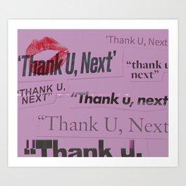 Thank U, Next Art Print