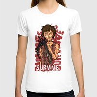 daryl T-shirts featuring daryl dixon by chubasan