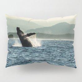 Humpback Whale Photography Print Pillow Sham