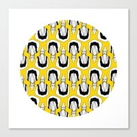 kill bill Canvas Prints featuring Kill Bill by orvangs