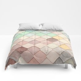Cute Rainbow Scales Comforters