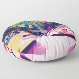 Teacups Floor Pillow