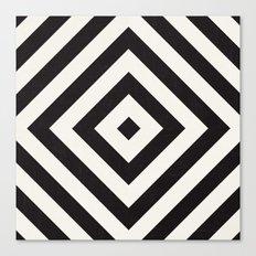 echo II - black Canvas Print