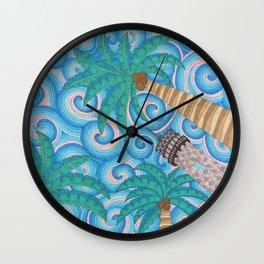 Key Buscayne's Lighthouse Wall Clock