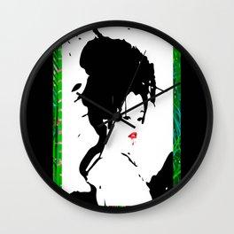 Bamboo cherry Wall Clock