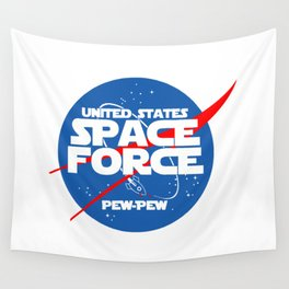 SPACE FORCE Wall Tapestry