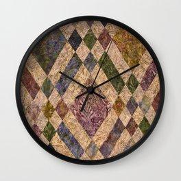 Faded Memories Wall Clock