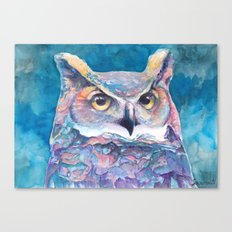 Wandering Owl Canvas Print