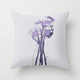 Rose III Hue Throw Pillow
