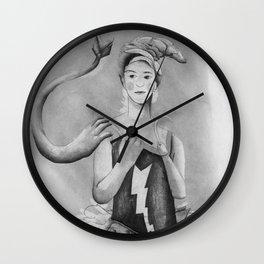 poltergeist ballerina Wall Clock