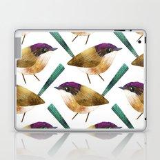 Purple-Crowned Fairy Wren Laptop & iPad Skin