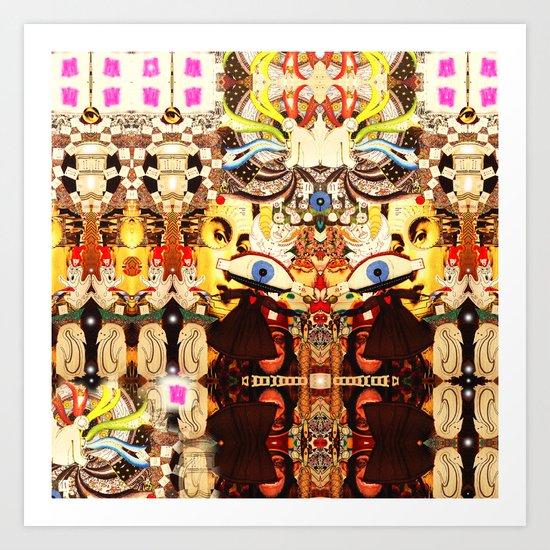 Visitations Art Print