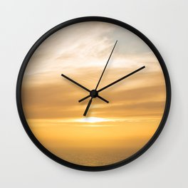 Touching Upon the Elements Wall Clock