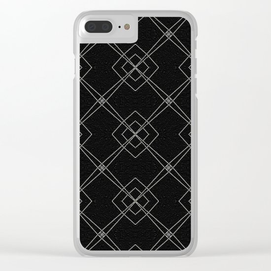 X Marks The Spot Clear iPhone Case