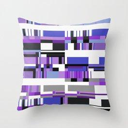 Debussy Little Shepherd (Purples) Throw Pillow