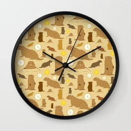 Groundhogs Wall Clock