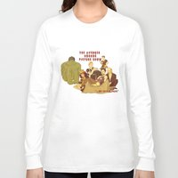 rocky horror picture show Long Sleeve T-shirts featuring The Avenger Horror Picture Show by Leigh Lahav