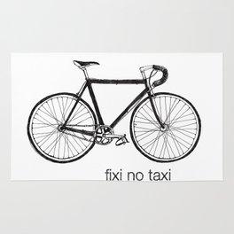 fixi no taxi Rug
