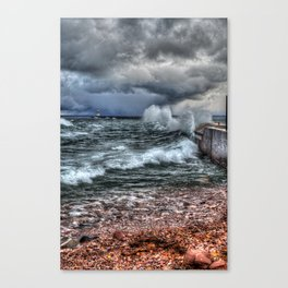 October on Superior Canvas Print