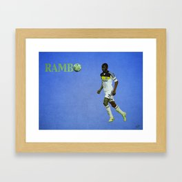 Rambo Framed Art Print