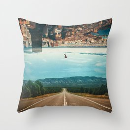 The Dropout Throw Pillow