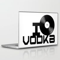 vodka Laptop & iPad Skins featuring LOVE VODKA by Giovanni Potenza