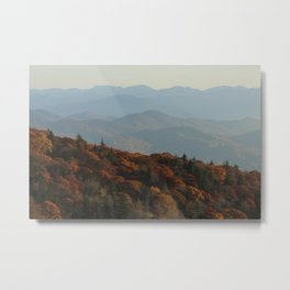 The Blue Ridge Mountains NC, Fine Art Photography Metal Print