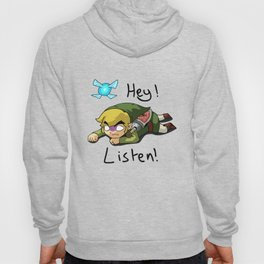 Link & Navi - The Legend Of Zelda Hoody
