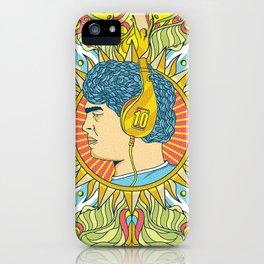 Maradona - The Immortal iPhone Case